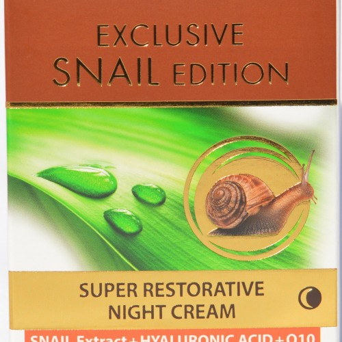 Exclusive Snail Edition Super Restorative Night cream