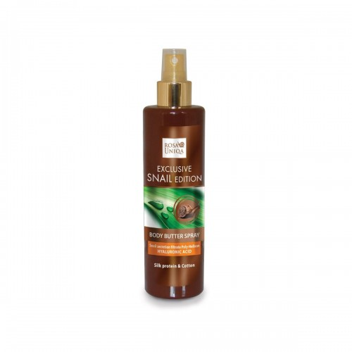 Rosa Uniqa Exclusive snail Edition Body Butter spray with Hyaluronic Acid