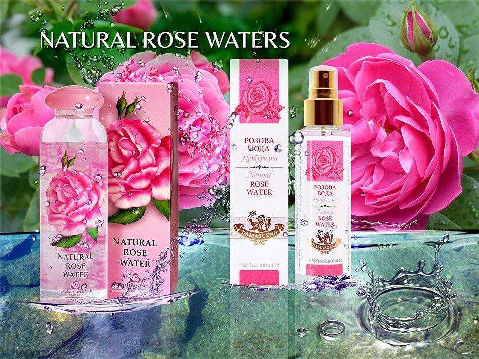 Natural Rose Waters