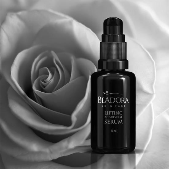 Lifting Age Reverse Serum BeAdora with Rose water & Hyaluronic acid