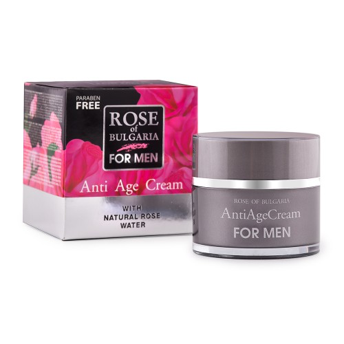 Anti-age Cream Rose of Bulgaria for Men