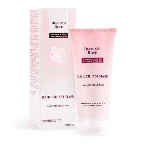 Hair Cream Mask Complete Repair Care Diamond Rose