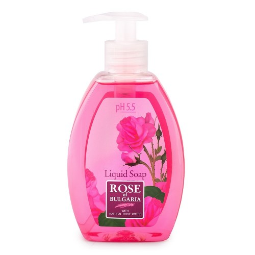 Liquid soap Rose of Bulgaria with Rose water