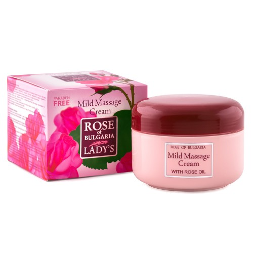 Mild massage cream Rose of Bulgaria