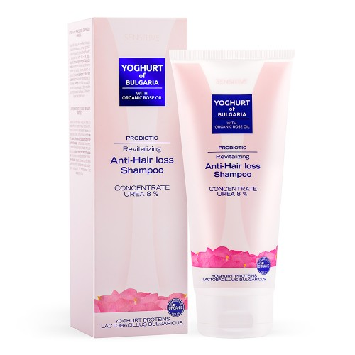 Probiotic Anti hair loss Shampoo Yoghurt of Bulgaria with Organic Rose oil