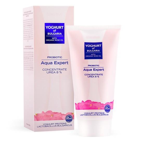 Probiotic Aqua Expert concentrate Yoghurt of Bulgaria with Organic Rose oil