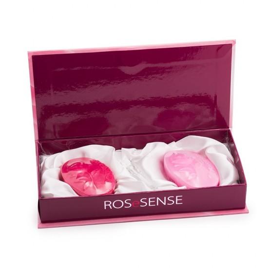 Gift set RoseSense of Bulgaria with 2 Handmade Glycerin Rose soaps and Eau de Parfum