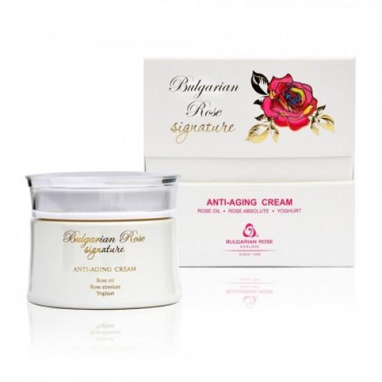 Anti-ageing face cream Bulgarian Rose Signature