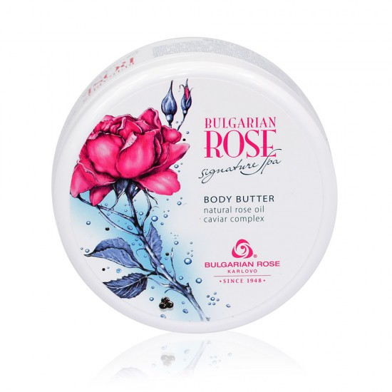 Body Butter Bulgarian Rose Signature Spa