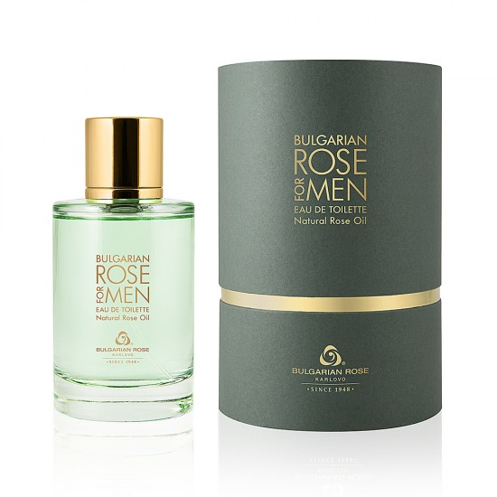 Bulgarian rose for men Eau de toilette 100ml.