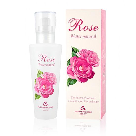 Natural Rose water Bulgarian Rose 160 ml in a box