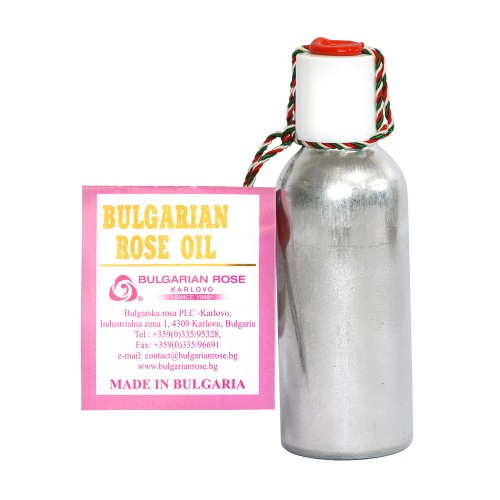 100% Pure original Bulgarian Rose oil (otto) 50 gr in Aluminium bottle