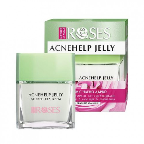 Nature of Agiva Roses Acne Help Jelly Daily cream