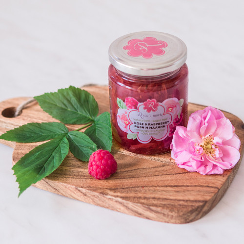 Rose & Raspberry Jam Sugar free Rosey's Mark