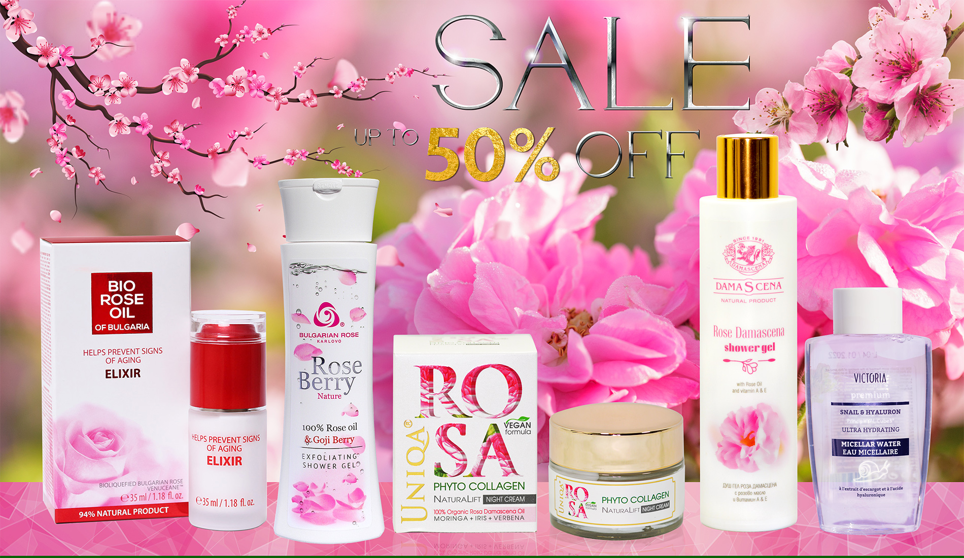 March Sale up to 50% OFF
