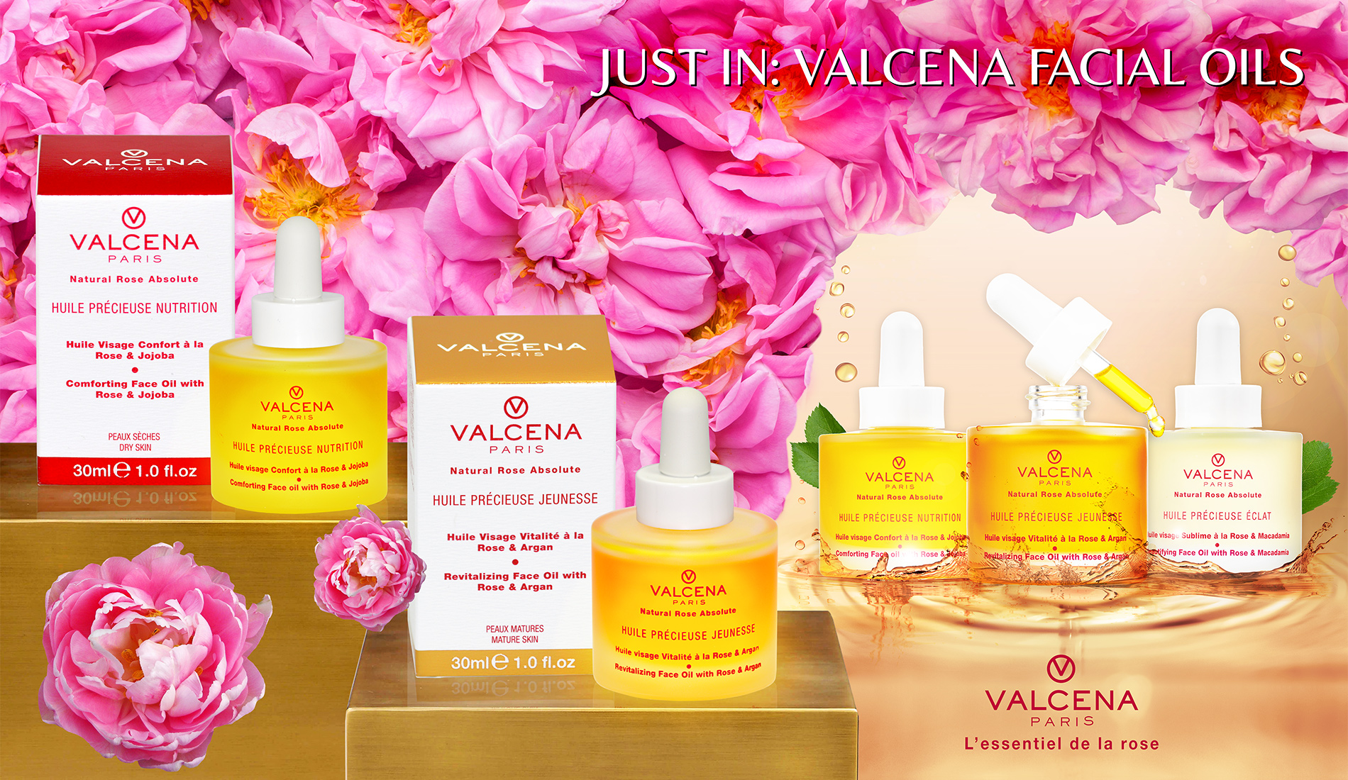 Valcena Facial Oils