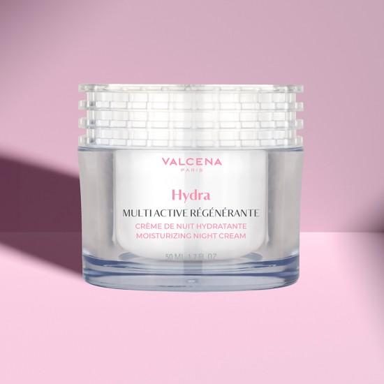 Multi active Regenerating Night cream Valcena Paris with Rose oil