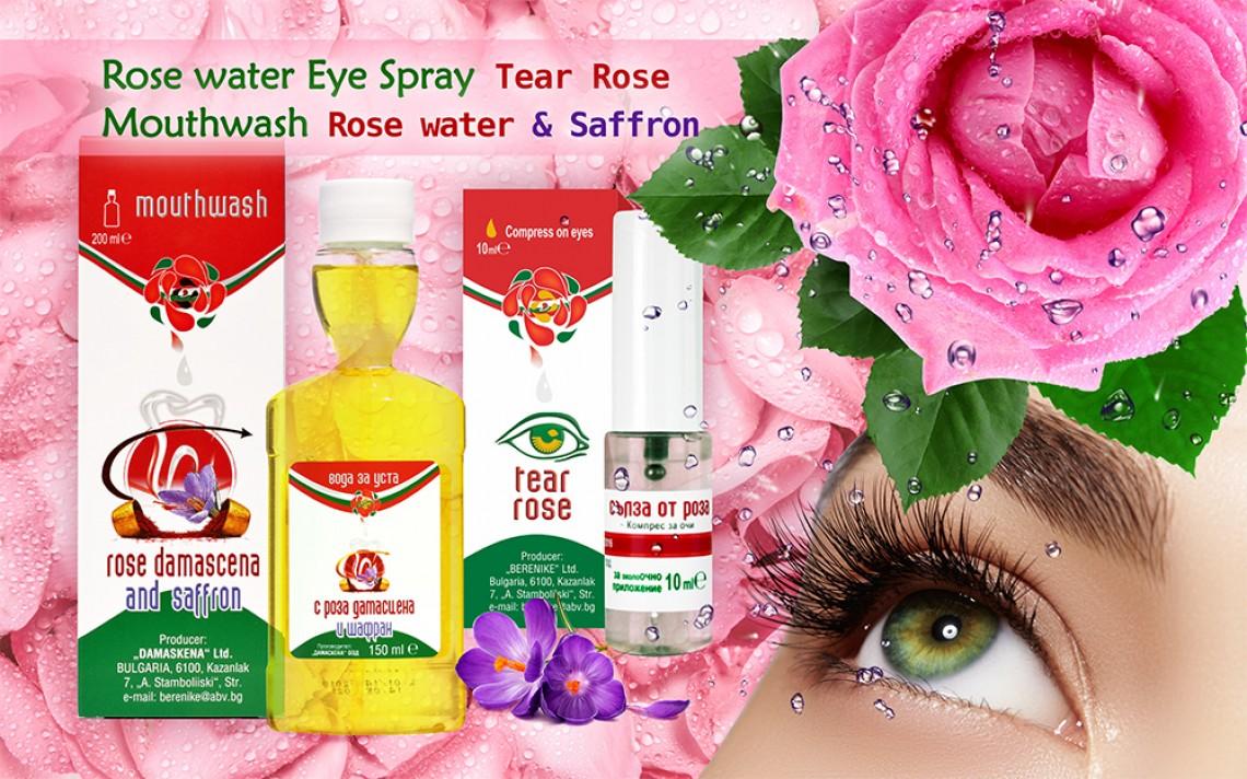 Rose water Eye & Mouth