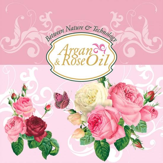 Argan and Rose oil