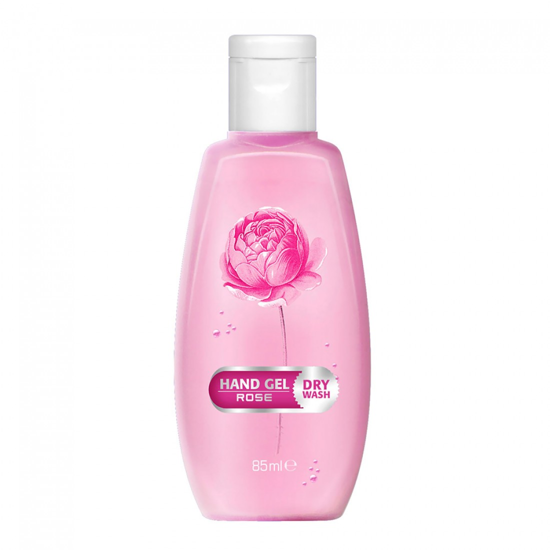 Hand gel Rose 85 ml