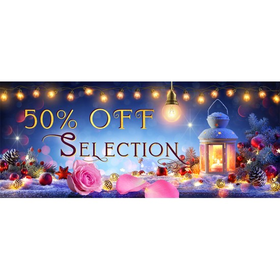 50% OFF Selection