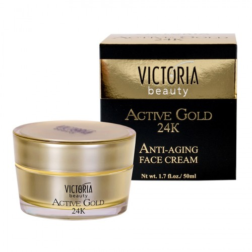 Active Gold 24K Anti-aging Face cream Victoria Beauty