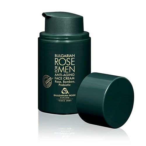 Anti-Age Face Cream Bulgarian Rose for Men