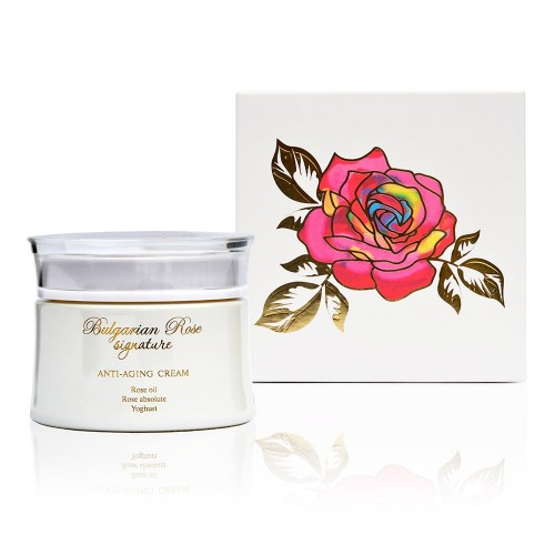 Anti-ageing face cream Bulgarian Rose Signature