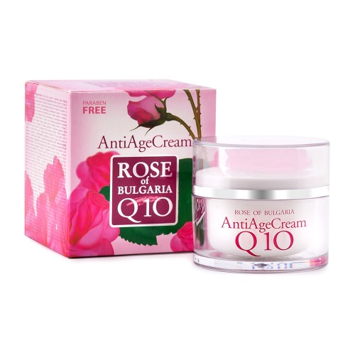 Anti age cream Rose of Bulgaria Q10