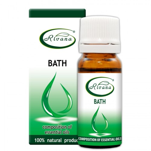 Bath - composition of essential oils 100% natural