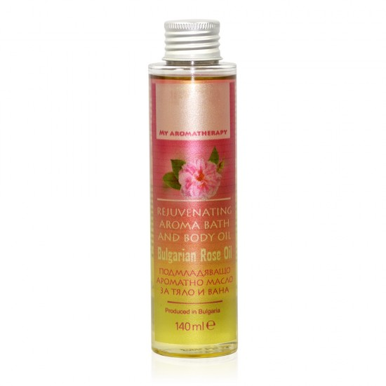 Bath and Body Aromatherapy Rose oil 140 ml