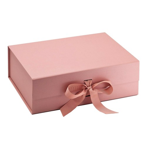 Luxury Gift Box in Rose Gold colour - Size A4