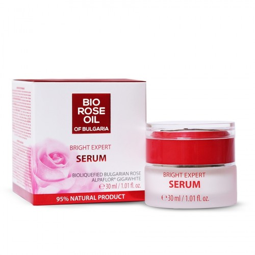 Bright Expert Serum Bio Rose oil of Bulgaria