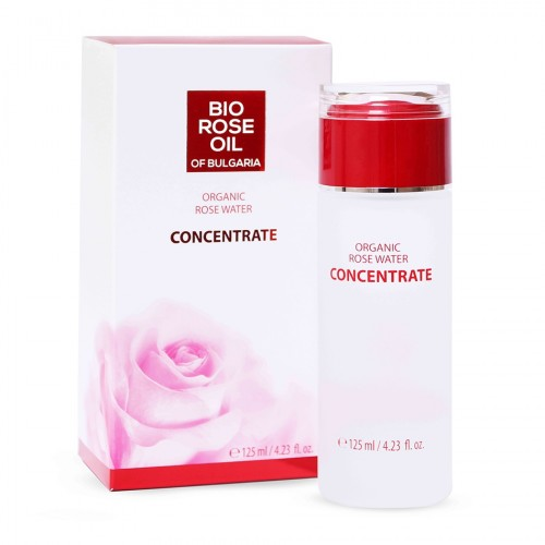 Organic Rose water Concentrate Bio Rose oil of Bulgaria