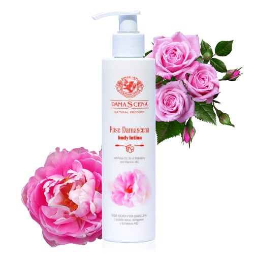 Rosa Damascena Body Lotion with Rose oil