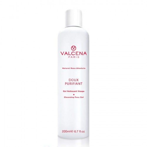 Cleansing Face gel Valcena Paris with Rose oil