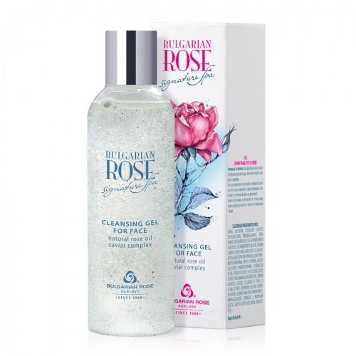 Cleansing gel for face Bulgarian Rose Signature Spa