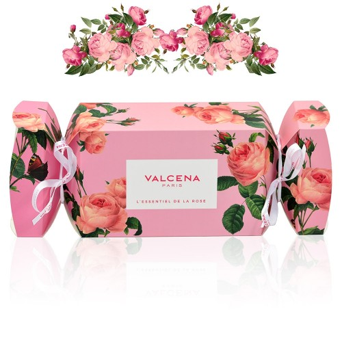 Cracker Gift Box Valcena Paris - Anti-age Serum, Hydrating mask & Cleansing gel