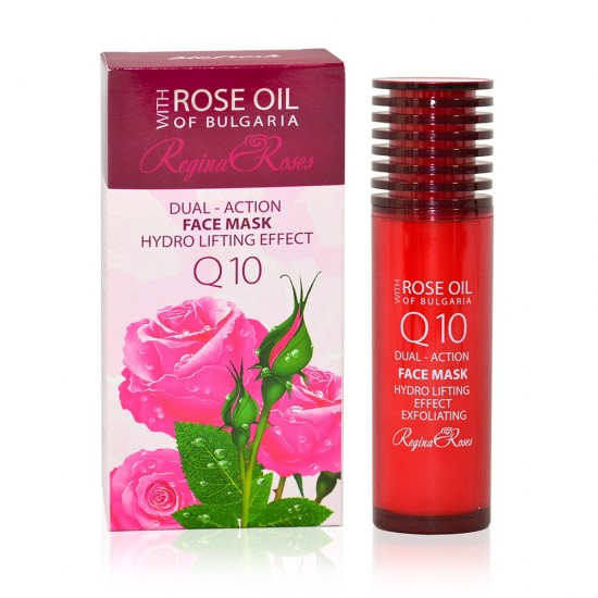 Dual-action Face mask hydro lifting effect Rose oil of Bulgaria