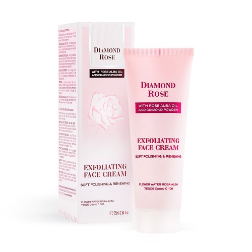 Exfoliating Face Cream Soft Polishing Diamond Rose