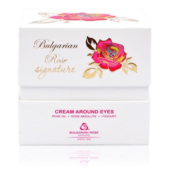 Eye contour cream Bulgarian Rose Signature