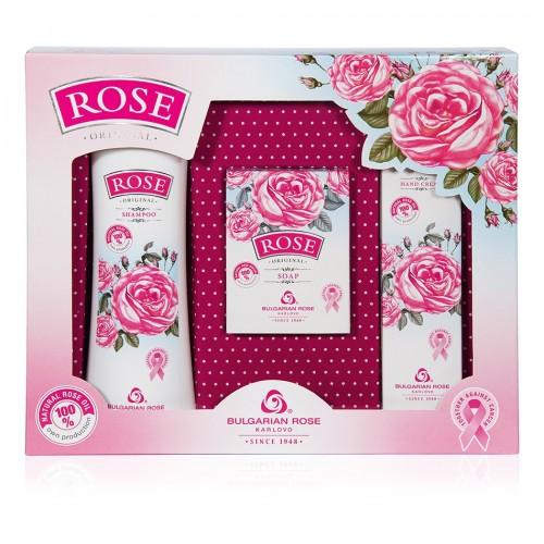 Gift set Rose Original with Shampoo