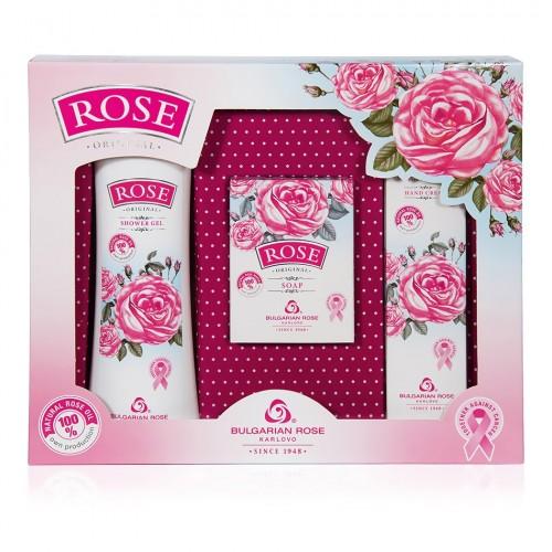 Gift set Rose Original with Shower gel