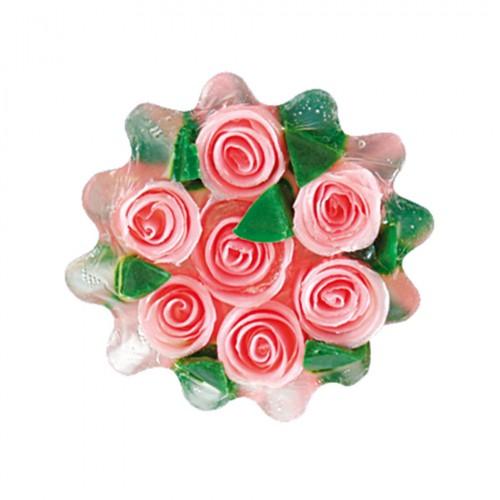 Glycerin soap Rose Fantasy 120gr Pink