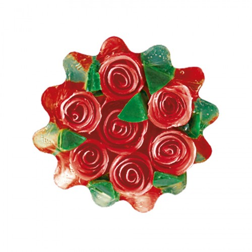 Glycerin soap Rose Fantasy 120gr Red