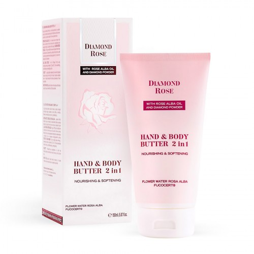 Nourishing Hand & Body butter 2 in 1 Diamond Rose