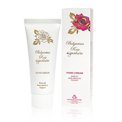 Hand cream Bulgarian Rose Signature