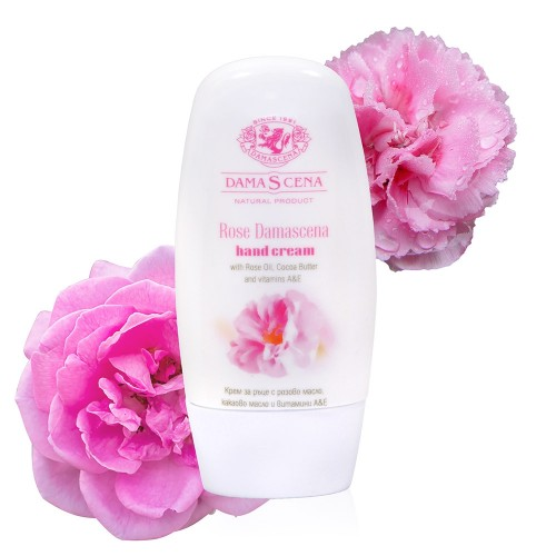 Hand cream Damascena with Rose oil & Cocoa Butter