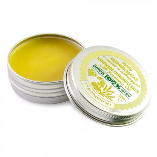 Handmade 100% Natural Chamomile balm with Lavender oil
