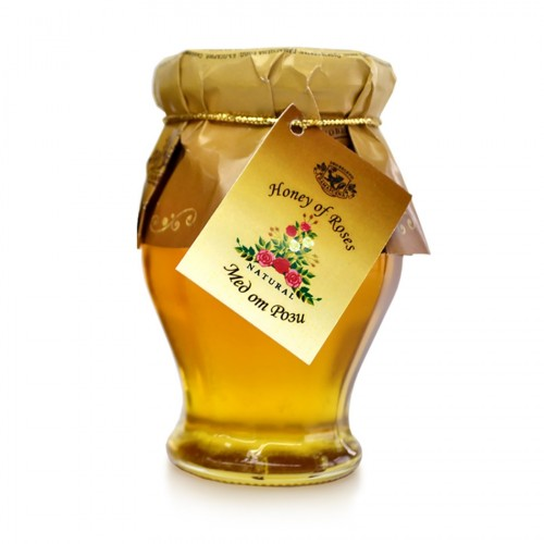 Natural Bee Honey with Rose oil 150 gr.
